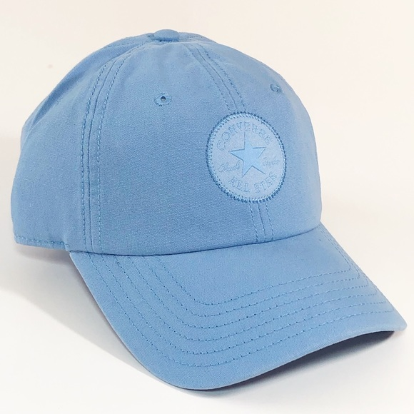 Converse All Star Baseball Hat Cap Pioneer Blue NWT